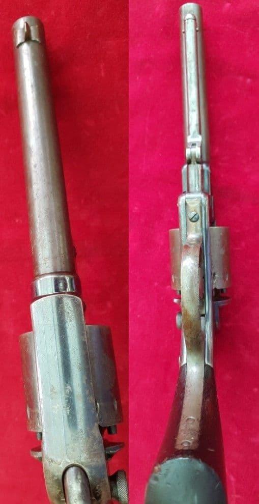 X X X SOLD X X X  Starr double action Percussion Revolver. Circa 1861-65. Ref 1994.